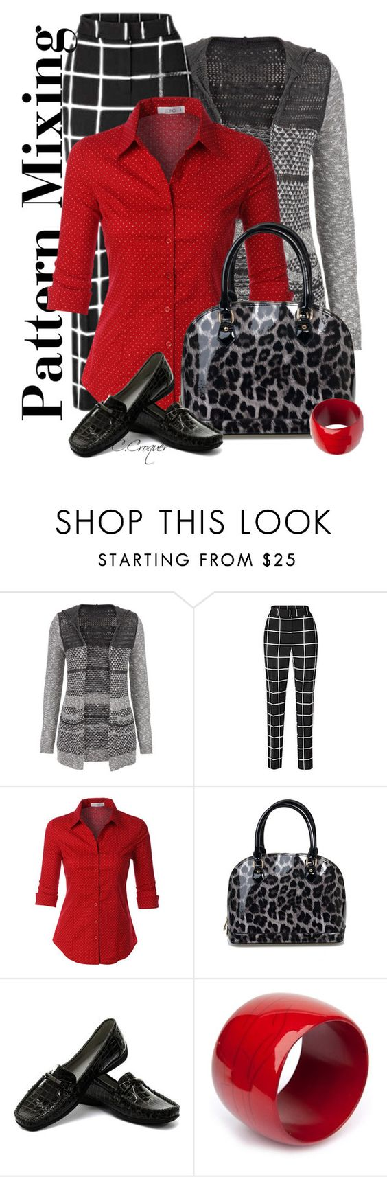 """Mixing!!"" by ccroquer ❤ liked on Polyvore featuring maurices, LE3NO, Trueform and R.J. Graziano"
