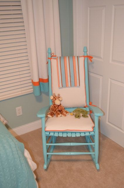 Rocking Chair Cushions with piping by taterbabies on Etsy – Etsy Chair Cushions