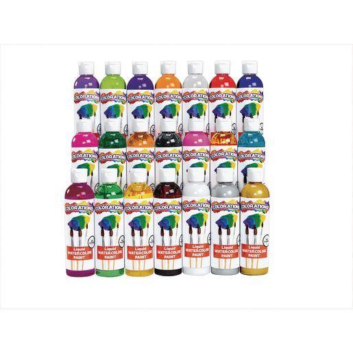 Colorations Liquid Watercolor Paint 8 Oz Crafte Liquid