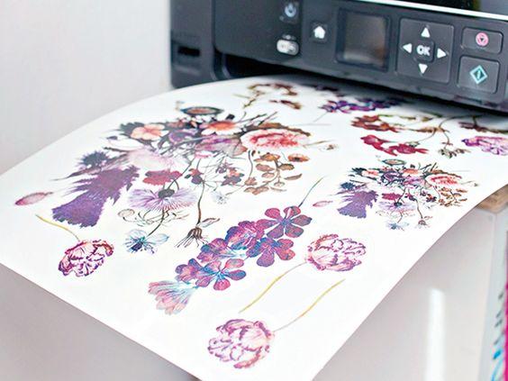 DIY Temporary Tattoo Paper