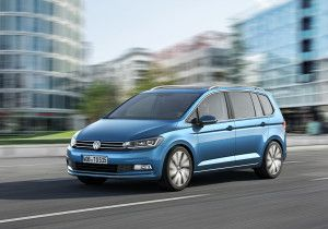 new VW Touran 2015 to get with 23 350 Euro.