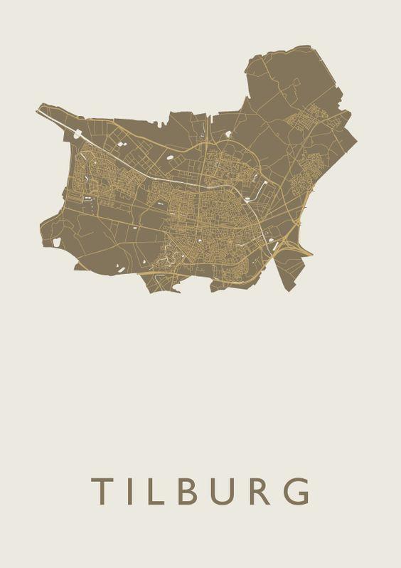 Tilburg Gold City Map