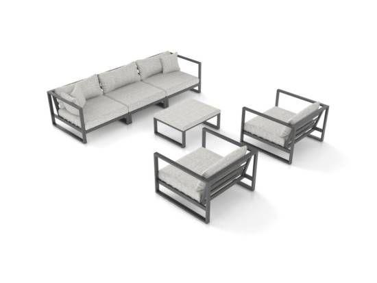 Matteo L En 2020 Salon De Jardin Aluminium Meubles De Jardin En Rotin Mobilier De Salon