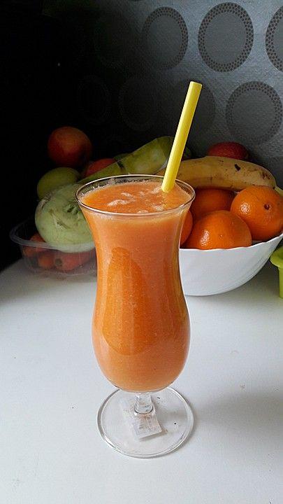 """""""Bleib gesund""""-Smoothie SuperNova, ein sehr schönes Rezept aus der Kategorie Shake. Bewertungen: 62. Durchschnitt: Ø 4,1."""