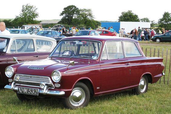 "1963 Ford Consul Cortina Super 2 door saloon (""Mark 1"")"