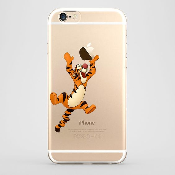Funda iPhone 6 Plus Tigger Transparente#iphone6 #fundaiphone6 #iphone6plus #accesoriosiphone6 #tutiendastore #tiger