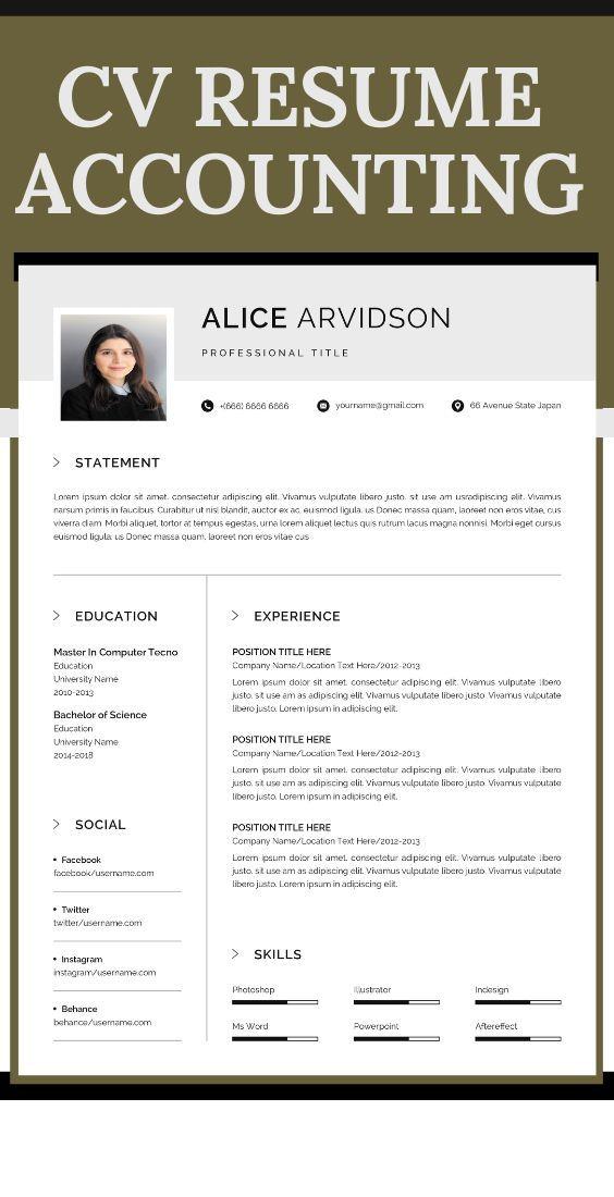 Pin Na Doske Administration Resume