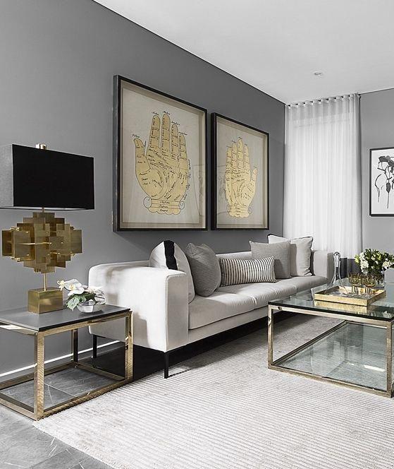 Minimal Baroque Living Room Furniture Ideas