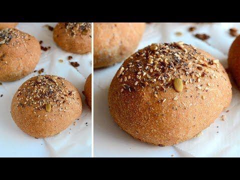 Pan Para Hamburguesas Casero Panecillos Caseros Muy Fáciles Las María Cocinillas Youtube Con Imágenes Recetas De Comida