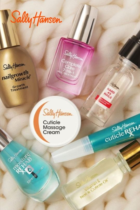 Give Yourself Some Much Deserved Self Care With These Nail Care Essentials From Sally Hansen Nail Care Routine Nail Care Nail Vitamins