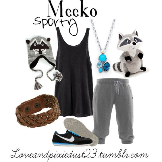 Meeko, created by loveandpixiedust on Polyvore