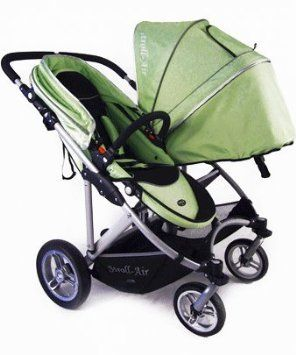 Amazon.com: Stroll-Air My DUO Twin Baby Stroller WITH Bassinet ...
