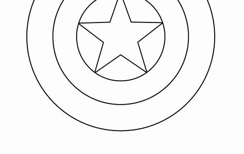 Captain America Shield Coloring Page Fresh Diy Captain America Shield Free Printable Captain America Coloring Pages Captain America Shield Coloring Pages