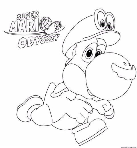 Multimoon Ausmalbilder Ausmalen Super Mario