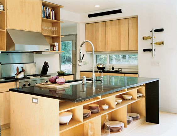 dwell home kitchen - loving the use of space here