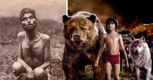 Dina Sanichar El Verdadero Mowgli Un Niño Que Vivió En La Jungla Y Fue Criado Por Lobos Jungla El Libro De La Selva Criada