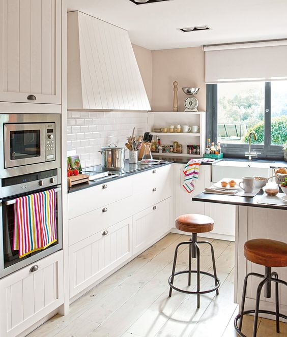 10 cocinas muy bien aprovechadas · ElMueble.com · Cocinas y baños