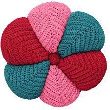 Resultado de imagem para como fazer almofadas em tricô