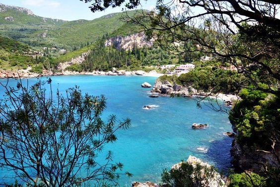 22_Liapades Blick auf Bucht Korfu Griechenland