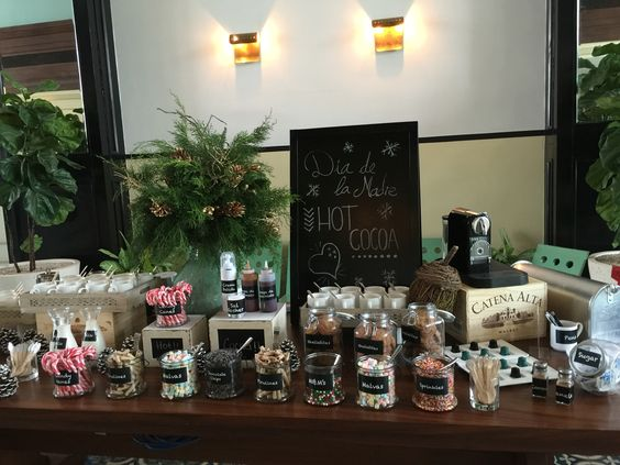 American Trade Hotel in Casco Antiguo , Panamá City Panama Hot Cocoa Station. Charming and delicious!