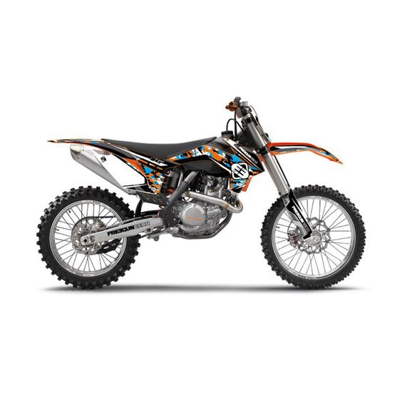 Kit deco de cross KTM Freegun Camo - 450cc SXF 2013-2014 - Accessoires motocross