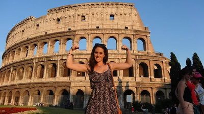 Please vote for this entry in Win a £1,250 travel voucher!!  help a girl out? When in #rome #travel LOVE it!