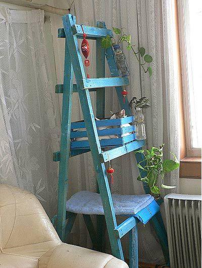 ladder cat tree!: