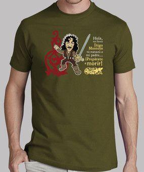 Camisetas de películas para hombres: Princesa Prometida - Iñigo Montoya V2