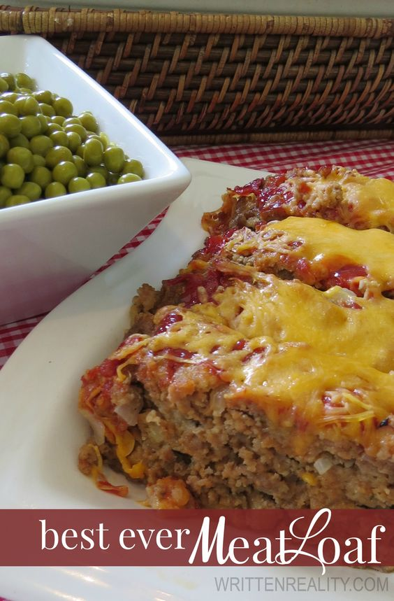 Best ever meatloaf recipe pinterest for the ketchup for Best dinner ideas ever