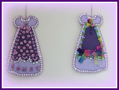 Victorian Dolls, Victorian Traditions, The Victorian Era, and Me: My New Free Linda's How-Do-I Series? How To Make Our Victorian Cut and Sew Purple Dress Ornaments E-Book Tutorial