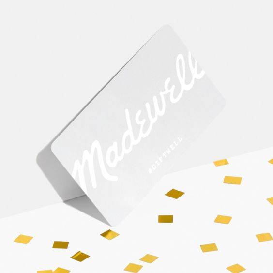 Madewell Gift Card With Images Madewell Gift Card Hotel Gift