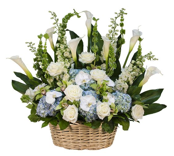 funeral flower arrangements | Funeral Flower Arrangements for NYC's Loved & Lost | Big Apple Florist ...:
