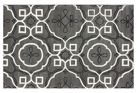 Madrid Rug, Gray