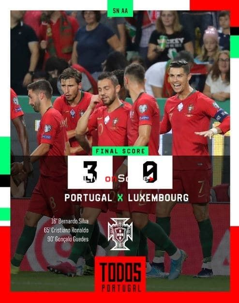Portugal 3 0 Luxembourg Full Highlight Video Euro 2020 Qualification Allsportsnews Football High Small Business Finance Match Highlights Full Highlights