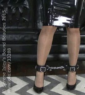 """sereneisley: """" @EnchantressSahr & @David_Andrews1 have some fun with latex and leather strapshttp://clips4sale.com/33288/13884313 """""""