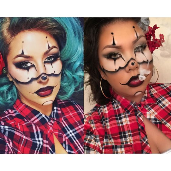 Halloween Clowns And Gangsters On Pinterest
