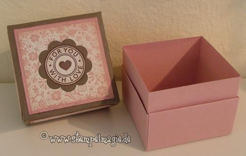 ~*Kreatives Tagebuch*~: ~*Origami-Box mit Einsatz*~