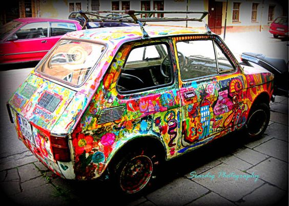 Berlin Colors Grafitti Car Automobile Hipster Germany by seardig, $14.00