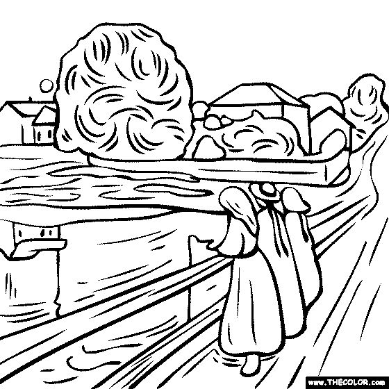 35++ Edvard munch the scream coloring page free download