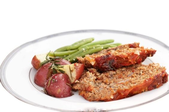 Healthy recipe with whole food ingredient - Tuscan Turkey Meatloaf