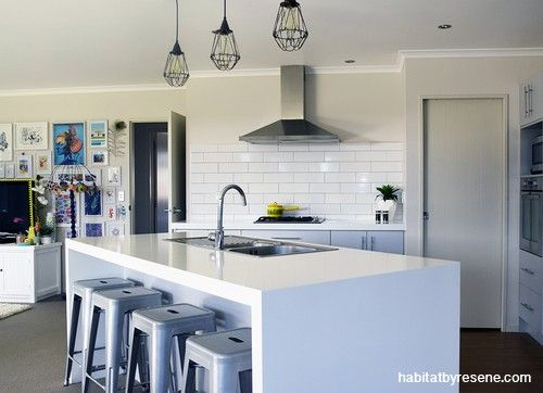 Franny S Home Goes From Blah To Bold Kitchen Design Open Plan