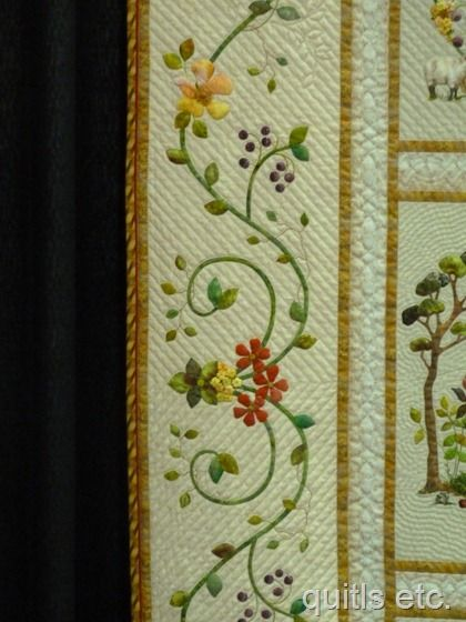 Hand Quilting Border Designs : Quilting, Hand quilting and Appliques on Pinterest