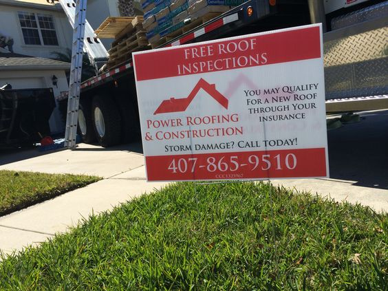 Storm Damage  We are your Orlando storm damage company. If your home has storm damage, let us do a free inspection for you! Your insurance premium may cover a roof replacement for your home!