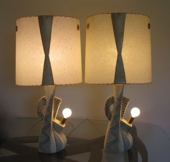 Here's another pair with their nite lites.