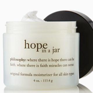 my favorite moisturizer...hope in a jar by philosophy
