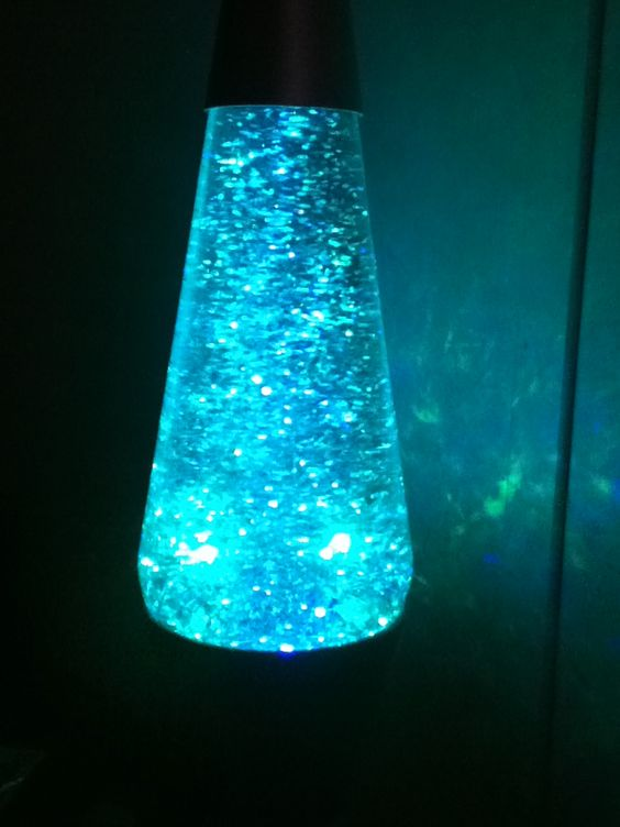 Its A Glitter Lava Lamp It Changes 3 Colors Red Blue And Green Lava Lamp Lamp Lamp Light