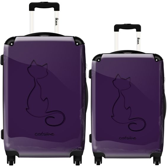 Purple cat shape