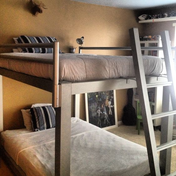 Queen Bunk Beds Bunk Bed And Queen On Pinterest