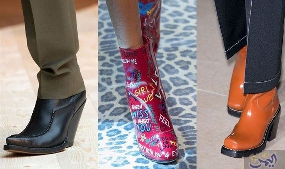 Louis Vuitton أبرز الدور التي طرحت حذاء الكاو بوي المثير طرحت العديد من الماركات العالمية مجموعاتها للشتاء المقبل فقا Rubber Rain Boots Rain Boots Shoes