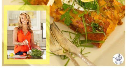 Denise Austin's Skinny Chicken Enchiladas Recipe